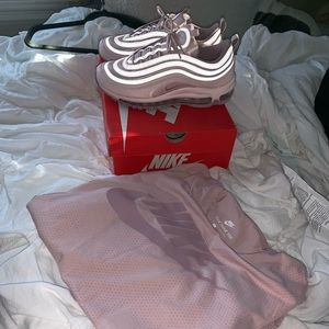 Nike shirt and shoes